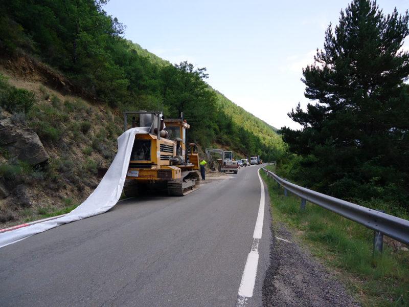 La UTE Formada Por Riovalle  Y Aragonesa De Proyectos Y Obras, Adjudicataria De Las Obras De Rehabilitación Del Firme De 110 Kilómetros De La N-260 En Huesca