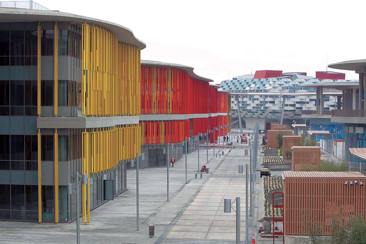 Reconversión del recinto Expo 2008 (Zaragoza)