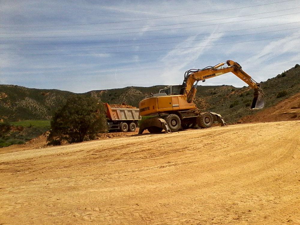 Abastecimiento de la zona central de las Cuencas Mineras desde el Embalse de las Parras (Teruel)