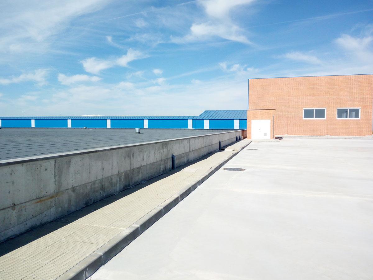 Anillo de abastecimiento y depósito de agua potable en Cortes (Burgos)