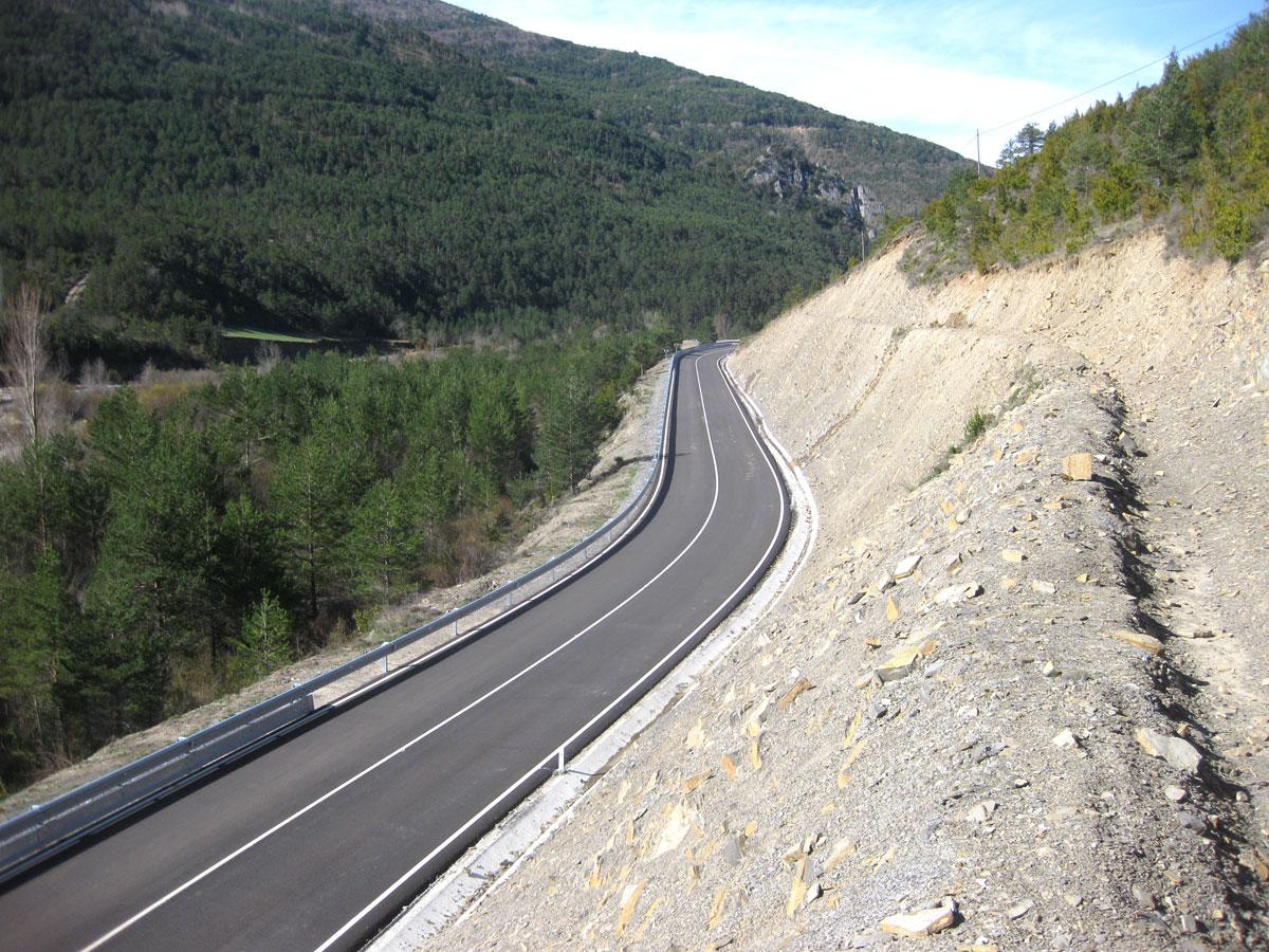 Acondicionamiento De Carreteras De Jasa Y Aragües (Huesca)