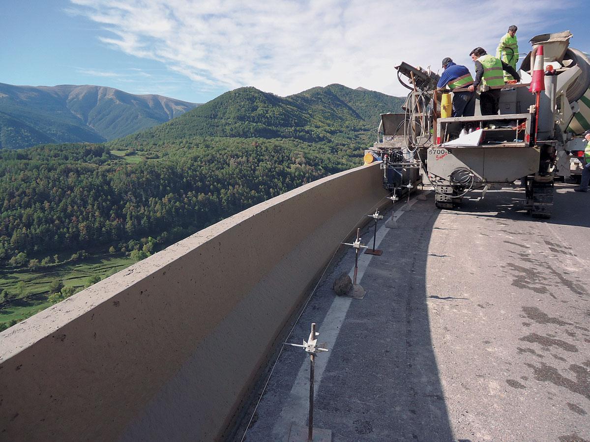 Tramos en Huesca, Lleida y túnel de Balupor-Sabiñanigo