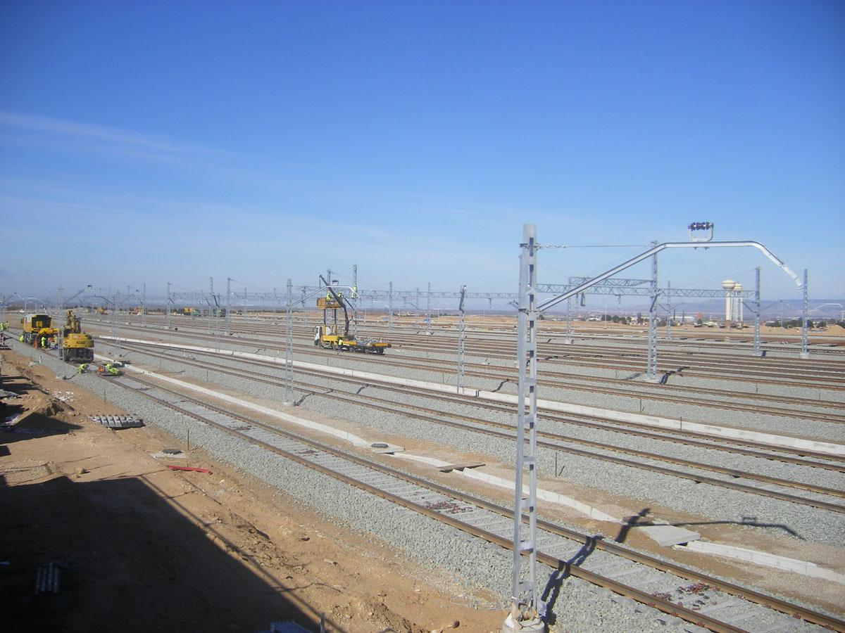 Complejo ferroviario Plaza (Zaragoza)