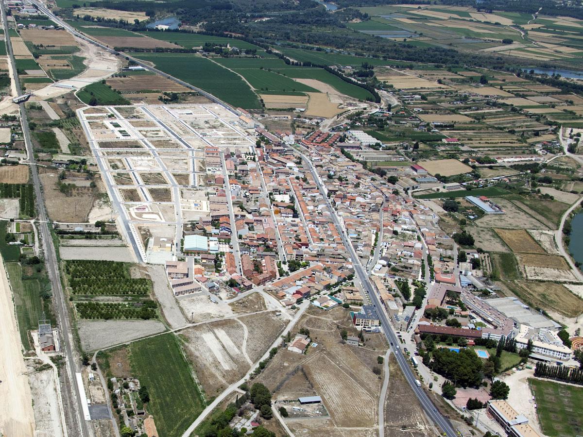 Urbanización En El Término De El Burgo De Ebro (Zaragoza)