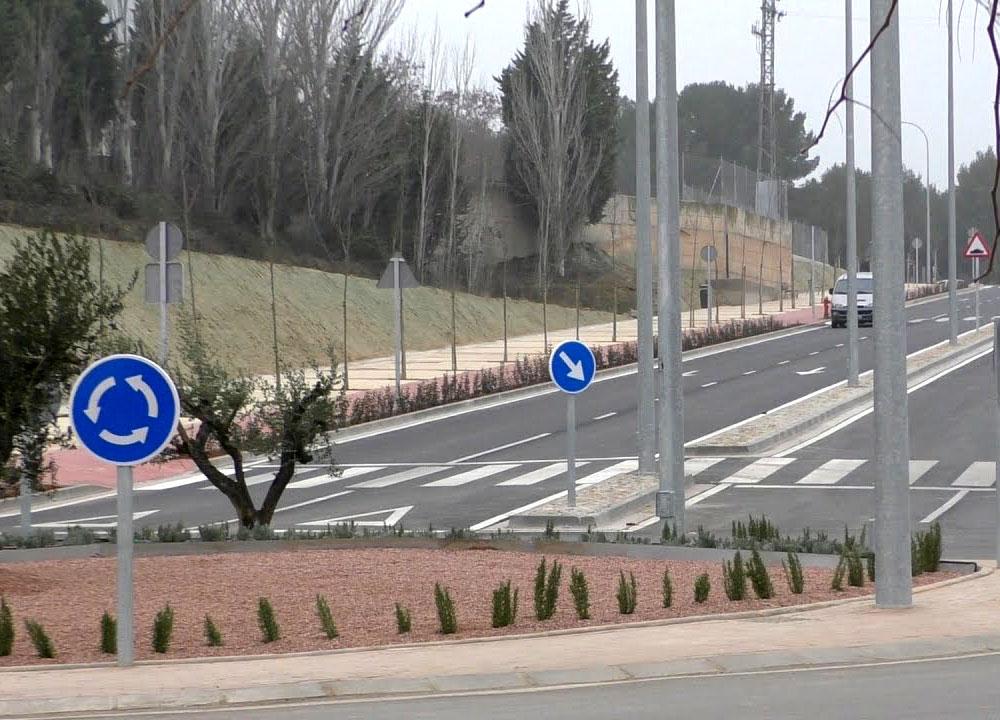 Prolongación del vial Huertas Mayores (Navarra)
