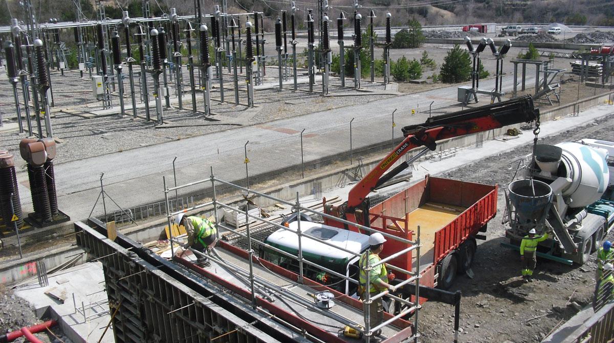 Central hidroeléctrica de Moralets 2 (Huesca)