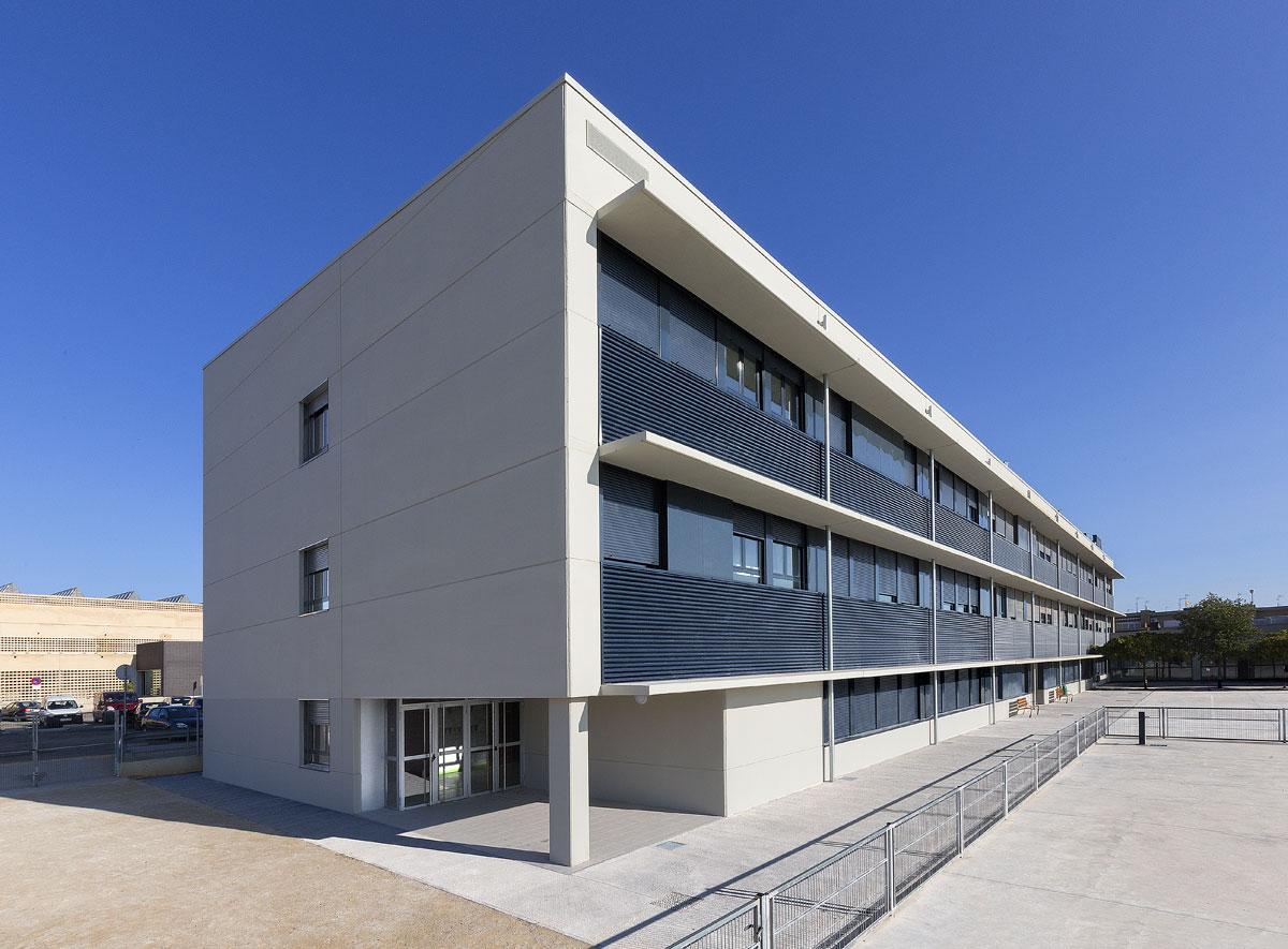Ampliación Del Colegio Huertas Mayores (Navarra)