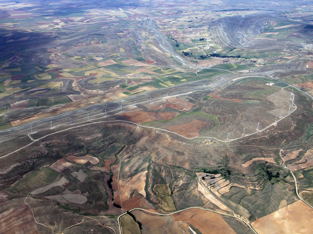 Parque eólico Sierra Costera II (Teruel)