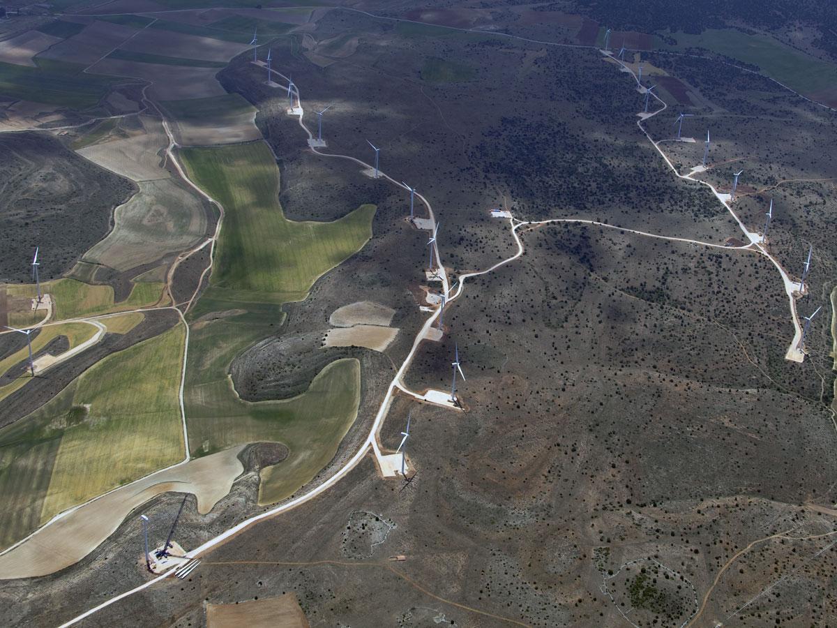 Parques eólicos Loma Gorda y San Gil (Guadalajara)