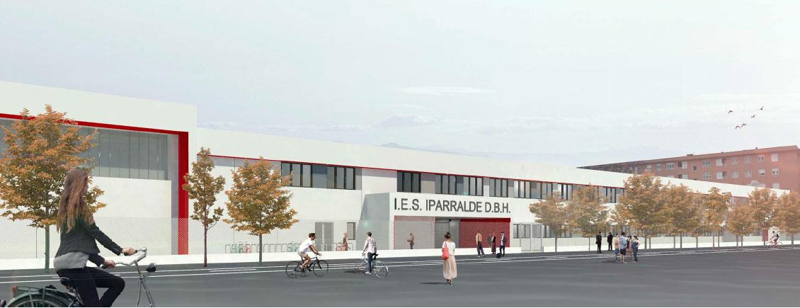 Nueva Obra En Un Centro Educativo Adjudicada A Riovalle: IES 'Iparralde' En Pamplona (Navarra)