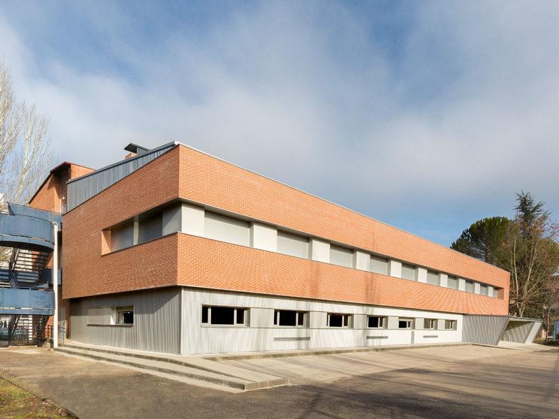 Instituto Burlada Fachada