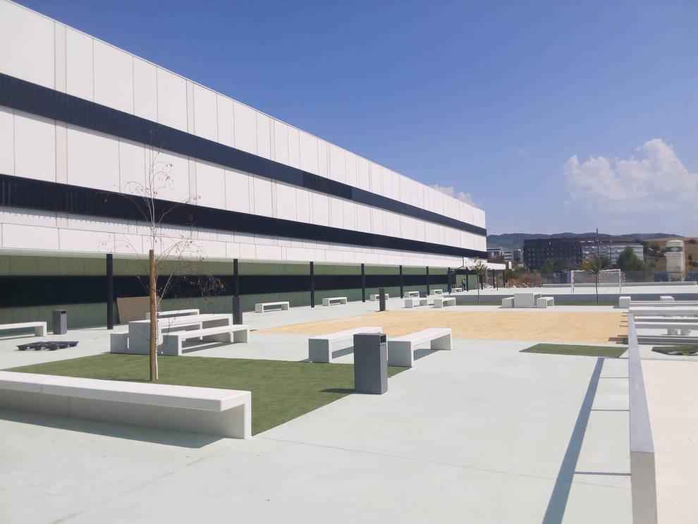 Las Obras Del Instituto De Sarriguren Finalizan Antes Del Inicio Del Nuevo Curso