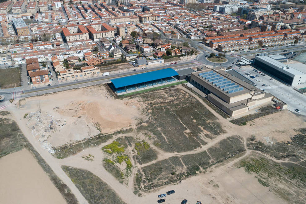 El Ayuntamiento De Tudela Adjudica A Riovalle La Obra Del Nuevo Complejo Deportivo De La Ciudad